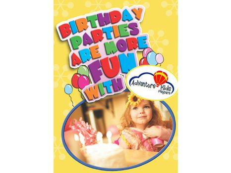 Gift Certificate for a Basic Birthday Party Package at Adventure Kids Playcare