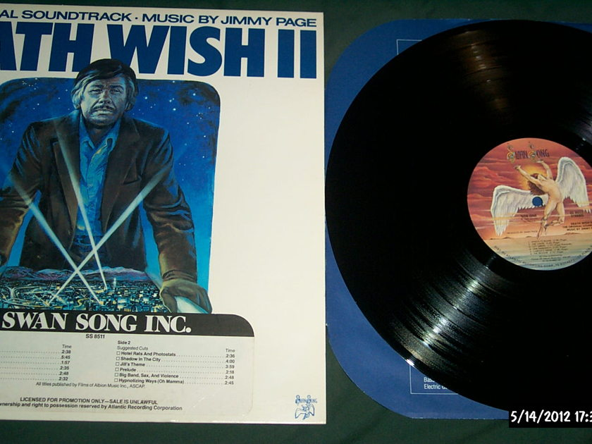 Jimmy page - Deathwish II promo lp nm