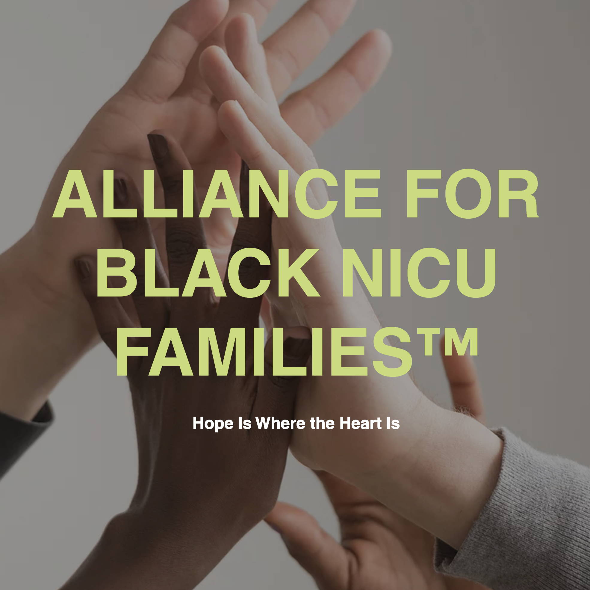 multiracial hands joined together in group high five