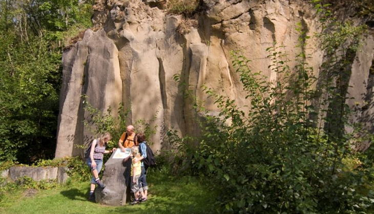 vulkanpark mayener grubenfeld infotafel