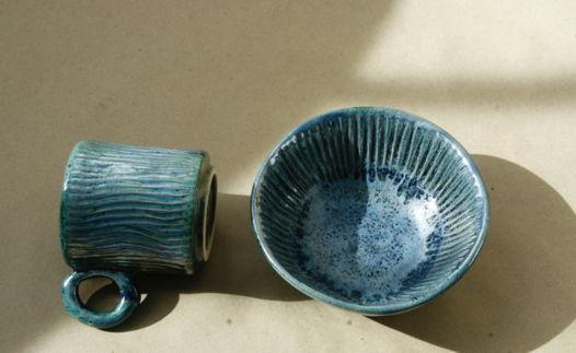 Комплект посуды - чашка и пиала