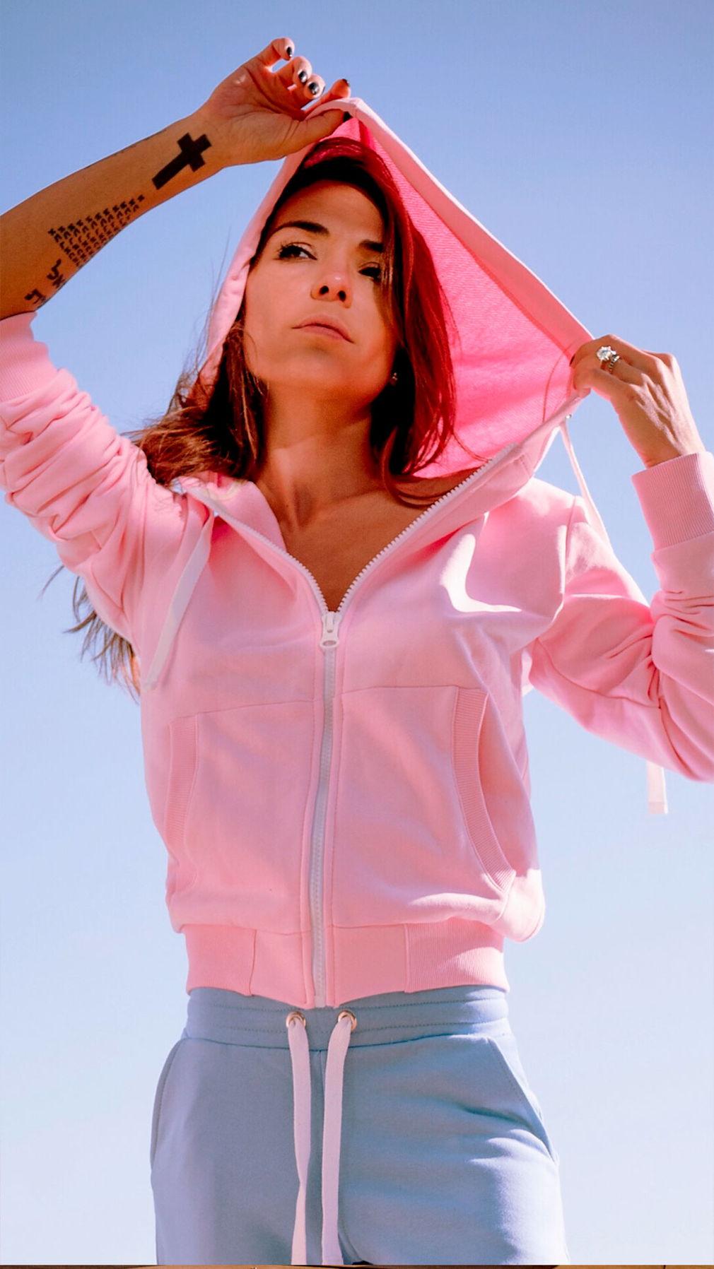 Розовая худи UNIPORN