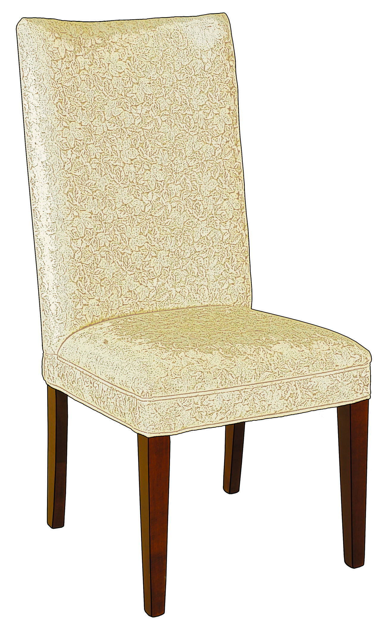 Sierra Solid Wood, Handcrafted Kitchen Chair or DIning Chair from Harvest Home Interiors Amish Furniture