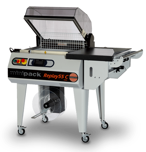 food shrink wrapping machine minipack torre