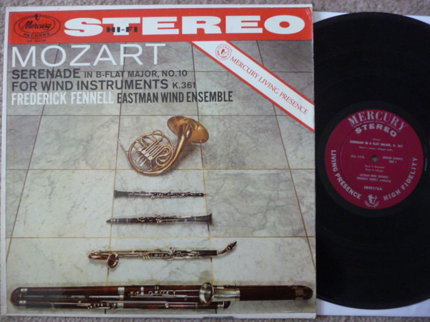 MOZART - SERENADE FOR WIND INSTRUMENTS MERCURY LP