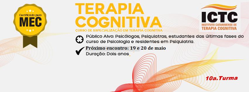 Curso de Especialização em Terapia Cognitiva - ICTC
