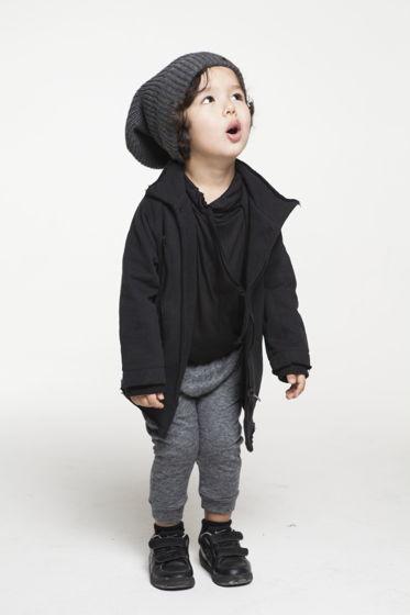 Ассиметричная куртка на молнии