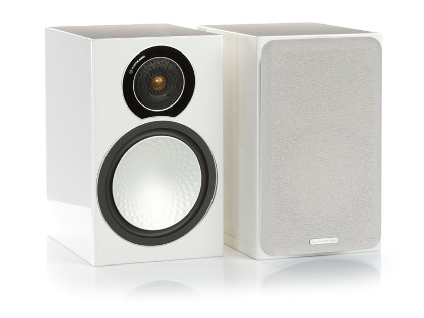 Monitor Audio Silver 2 Loudspeakers (White Lacquer): Excellent Condition; 1 Yr. Warranty; 40% Off