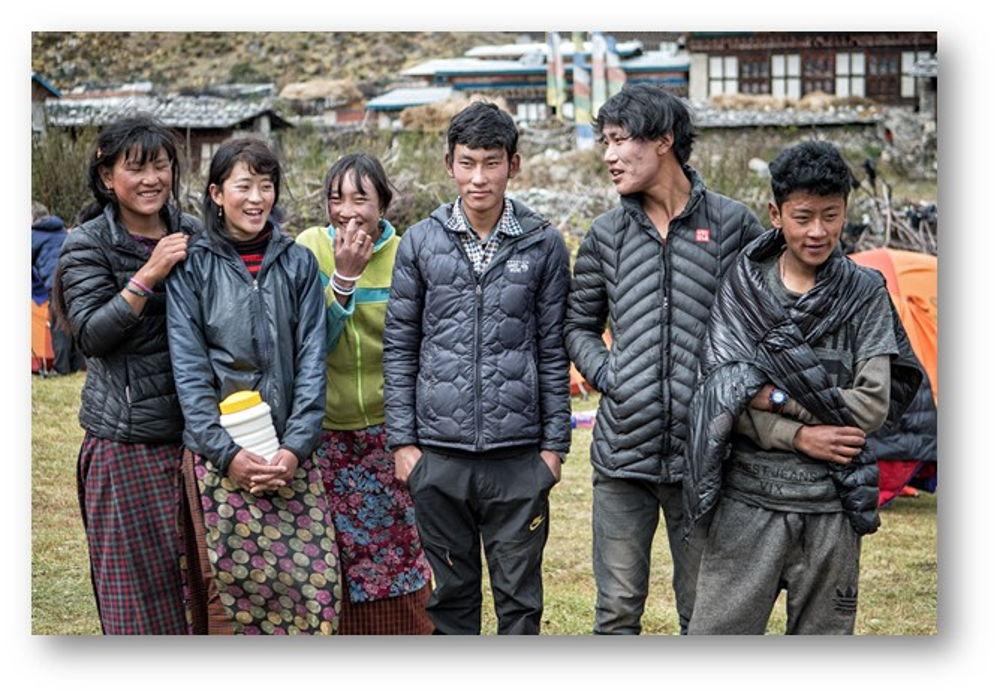 Jeunesse Bhoutanaise