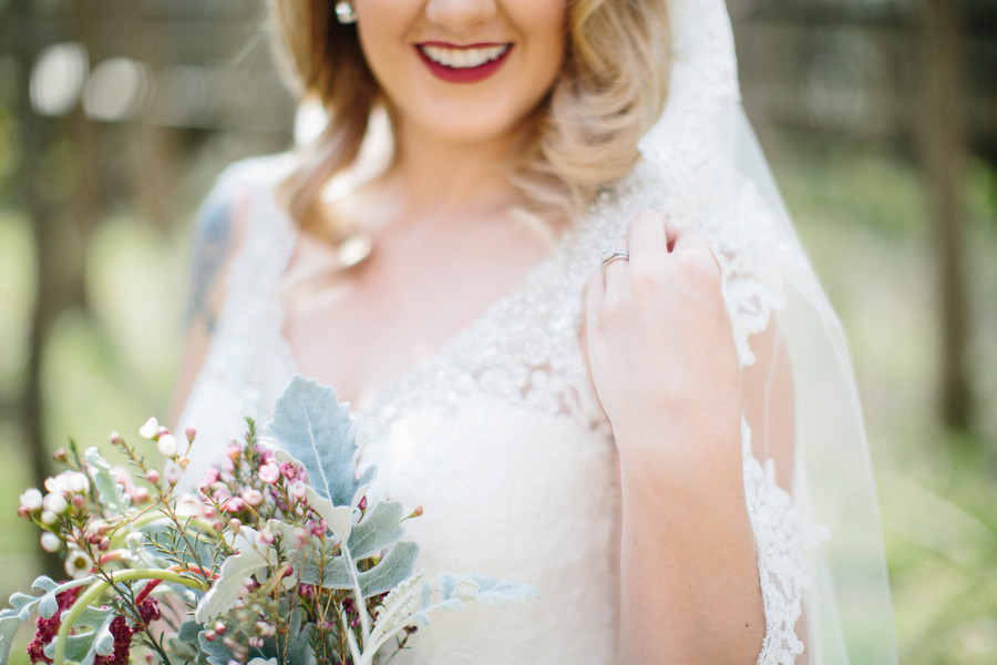 Winter Themed Bridal Portraits Stun