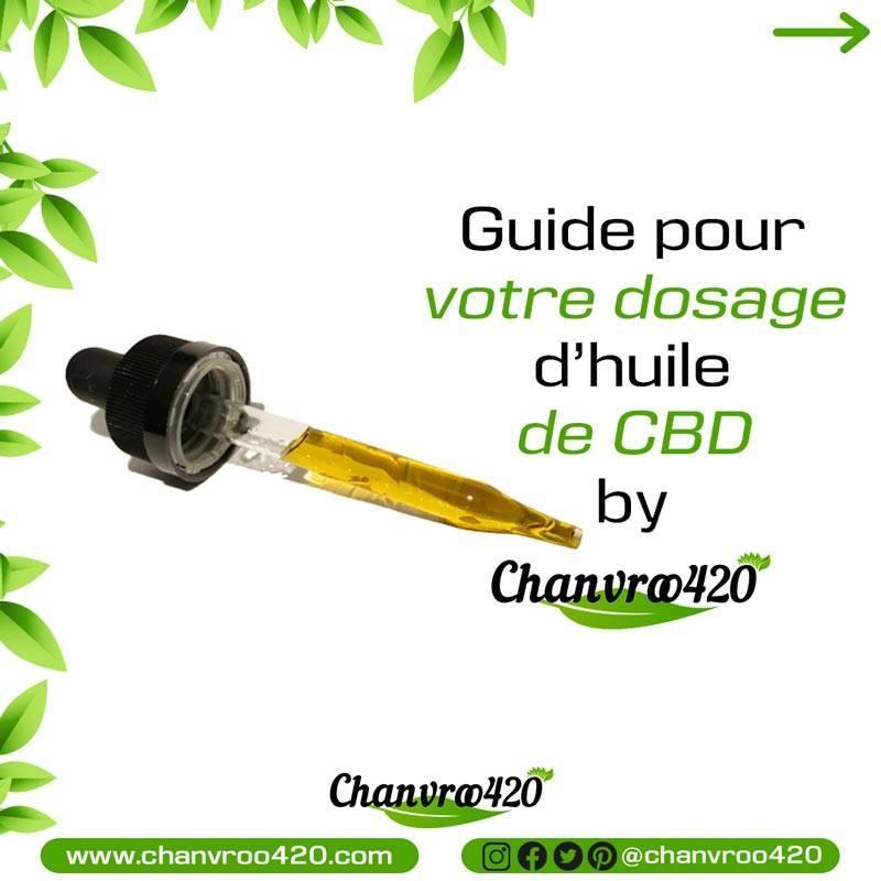 Guide pour prendre l'huile de CBD 1
