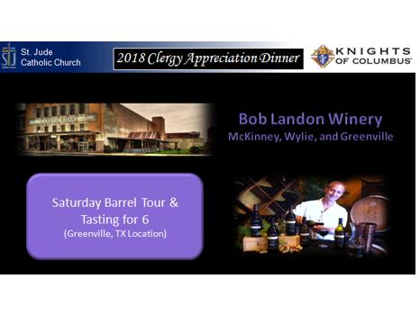 Bob Landon Winery Tour & Tasting