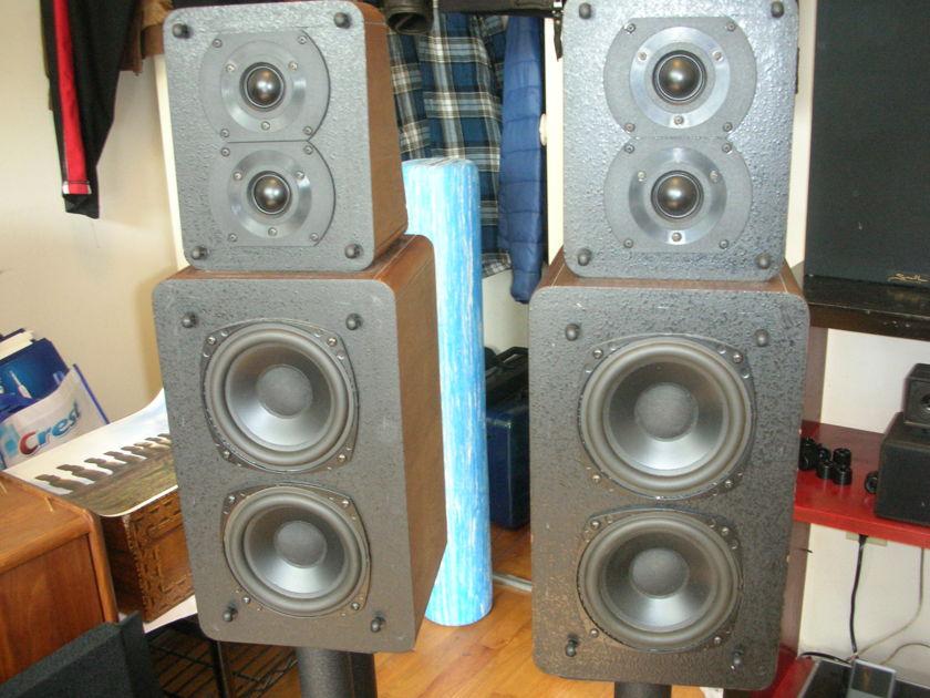M&K S-1b Monitors. Walnut