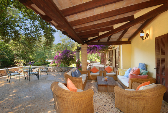 Pollensa - Beautiful five-bedroom villa situated in La Font, lovely residential complex, only two km from Pollensa