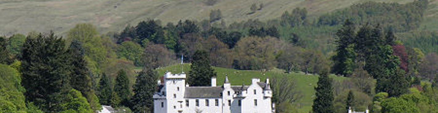 Замок Блэр, вискикурня или водопад