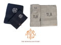 Custom Towels from The Monogram Studio