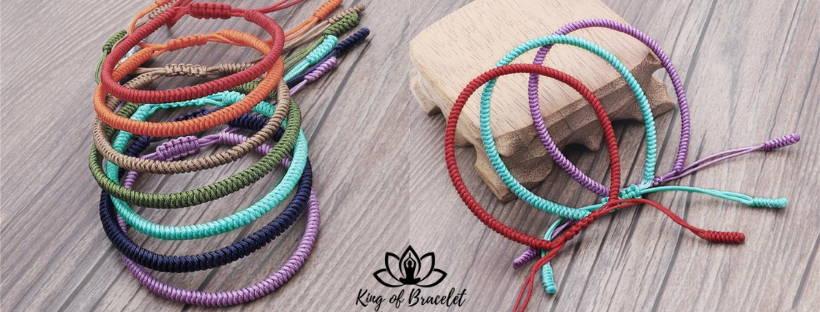 Bracelet Bouddhiste tibétain Authentique - King of Bracelet
