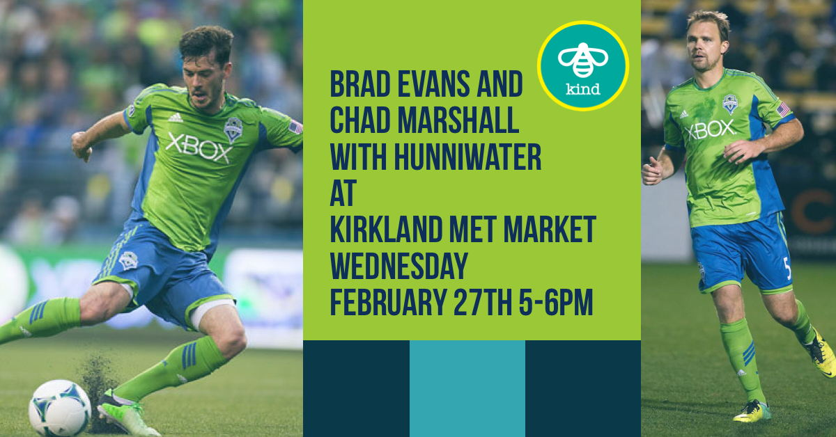 Brad Evans and Chad Marshall with Hunniwater