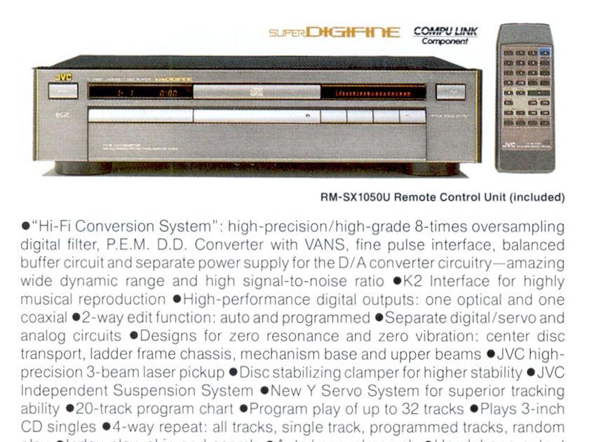 JVC XL-Z1050 CD Player - Rare