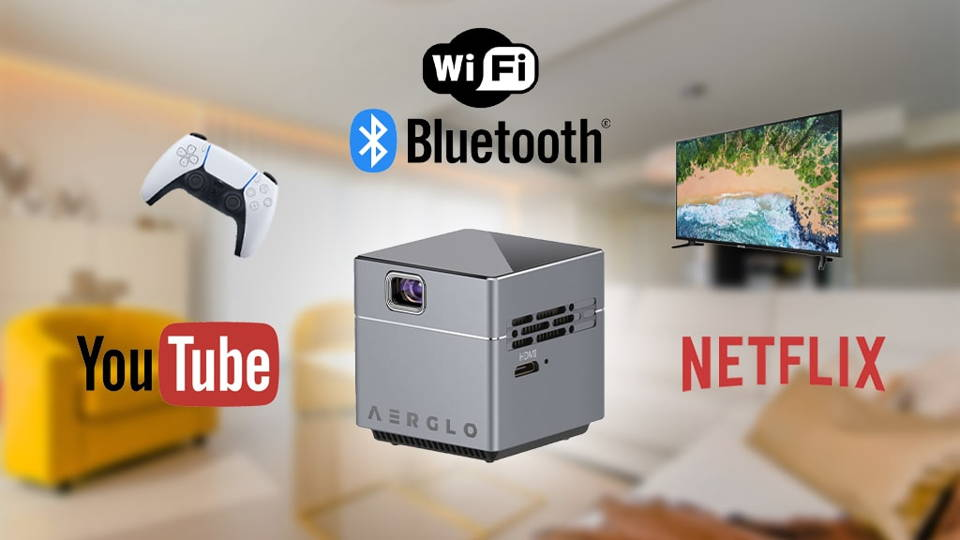 Wifi, Bluetooth, Netflix and Youtube