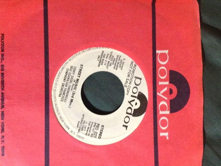 Corky Siegel/Seiji Ozawa - Street Music Promo 45 NM Polydor Label