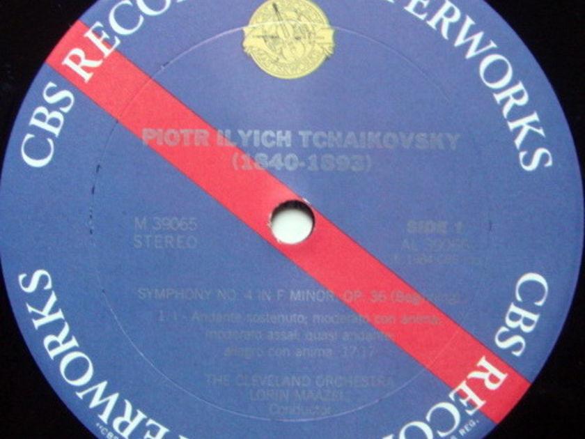 CBS Digital / MAAZEL, - Tchaikovsky Symphony No.4, MINT, Promo Copy!