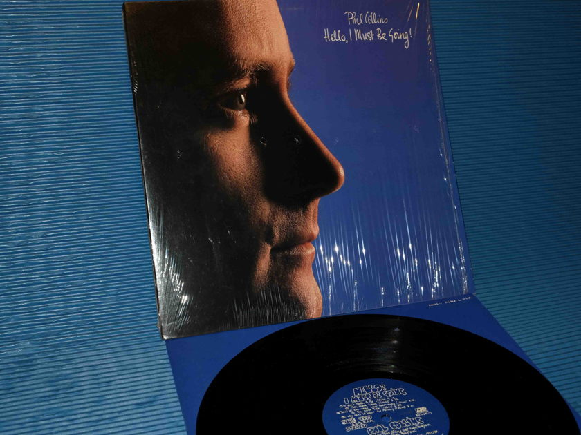 """PHIL COLLINS - """"Hello, I Must Be Going!"""" -  Atlantic 1982 1st pressing"""