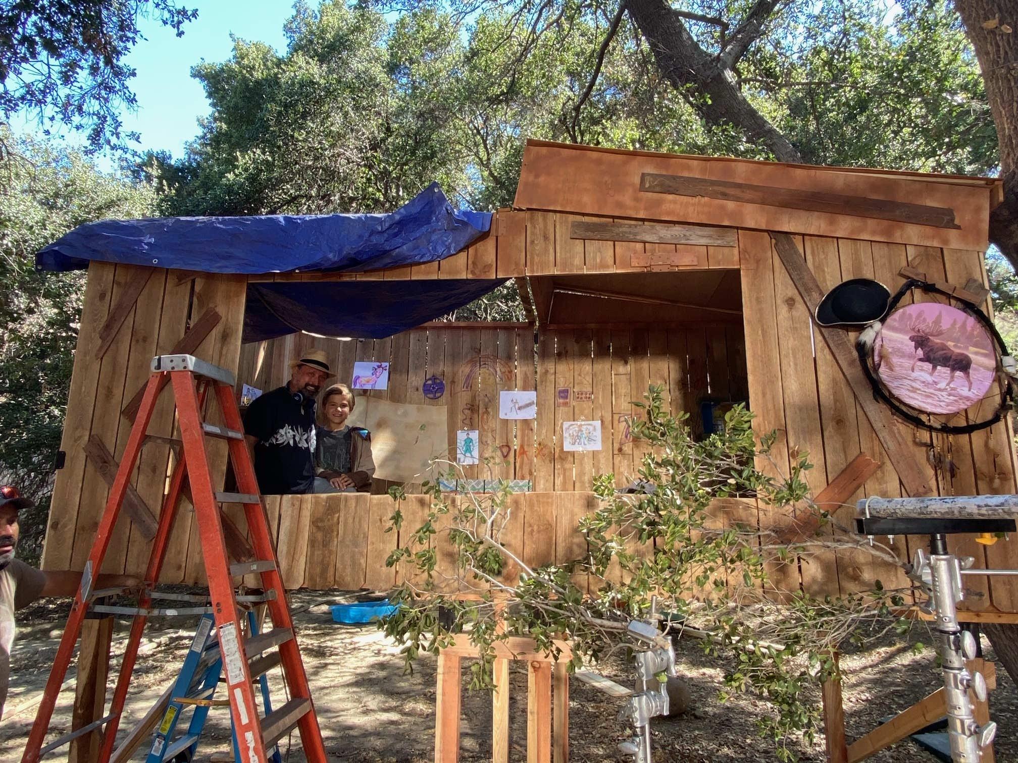 The Treehouse set