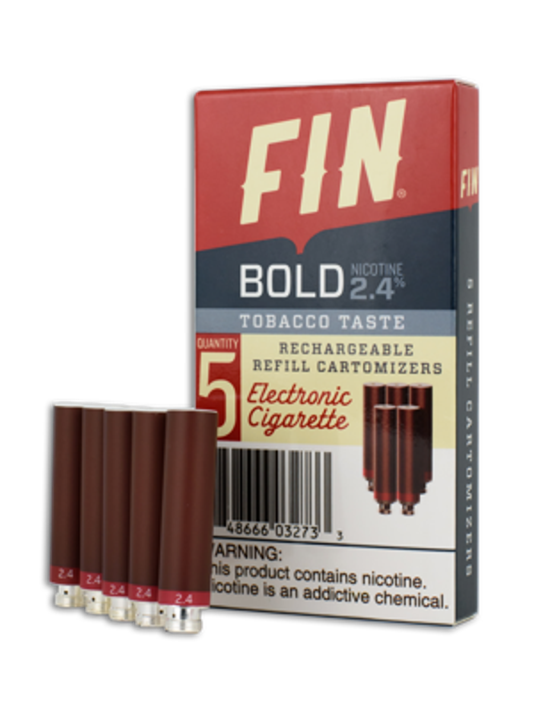 Pack of 5 Cartomizers Tobacco - Bold