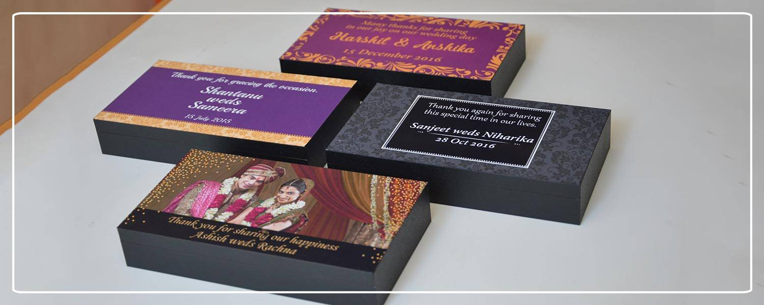 customized wedding return gifts for Indian weddings