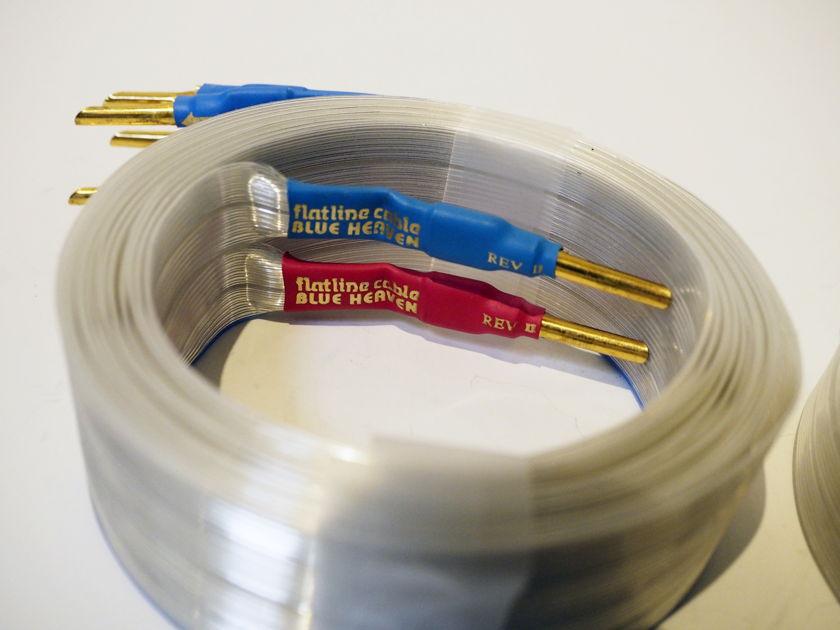 Nordost Blue Heaven rev-2 bi-wire speaker cable, 4 meters