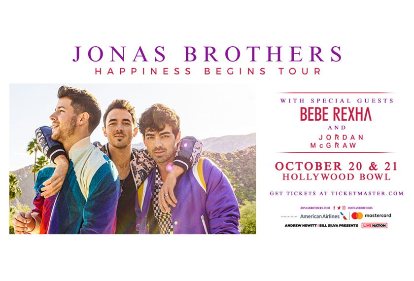 Jonas Brothers  Happiness Begins Tour artwork