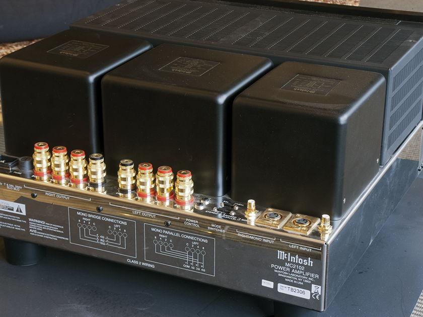 McIntosh MC2102 Tube Power Amplifier; 200w x 2