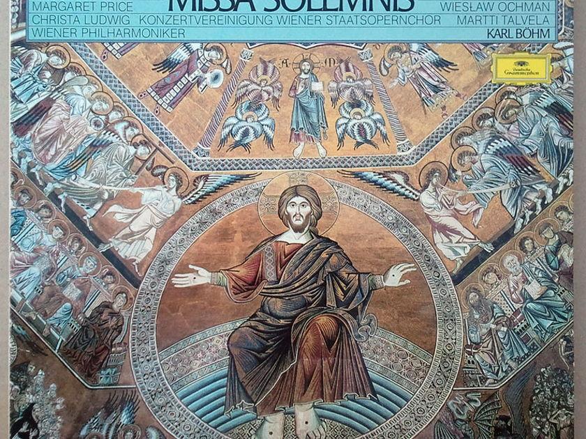 DG | BOHM/BEETHOVEN - Missa Solemnis / 2-LP Box Set / NM