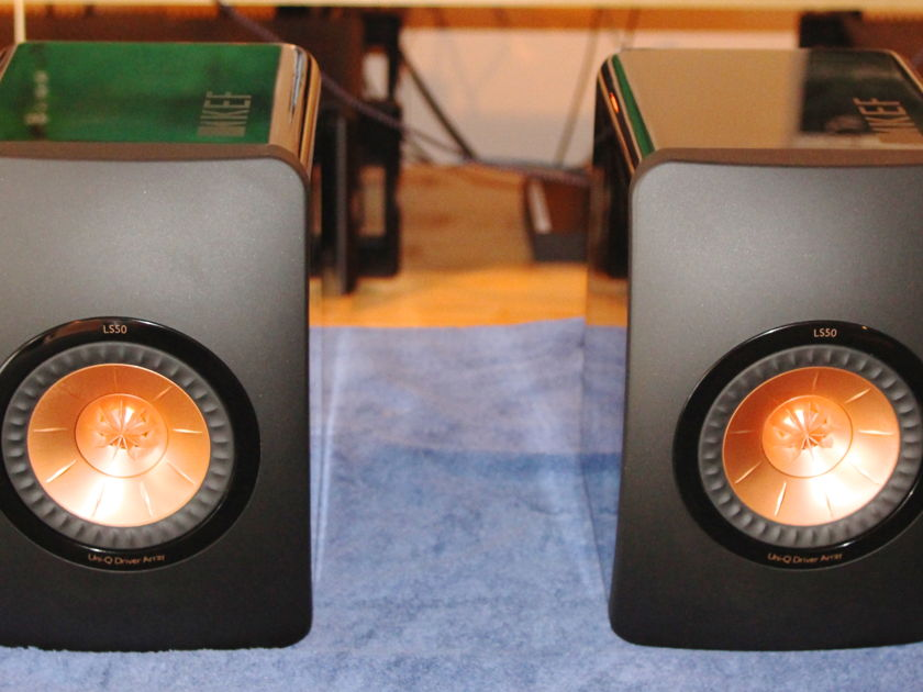 KEF LS-50 Bookshelf loudspeakers