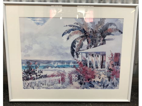 Framed William Ternes Print