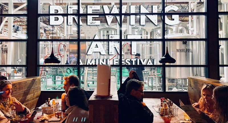 Brewing Art: A Mini Festival