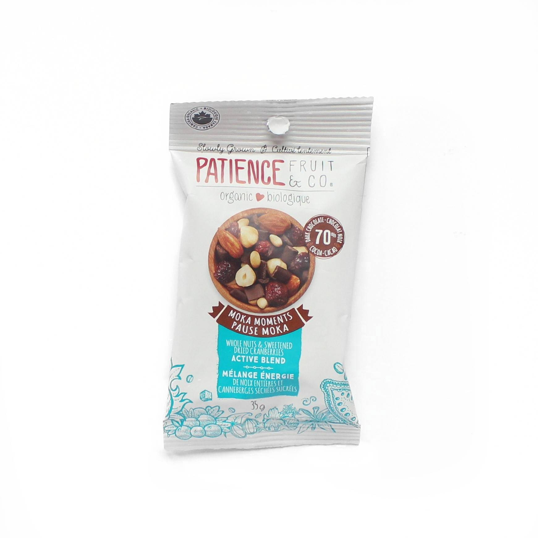 Patience fruit co mélange pause moka