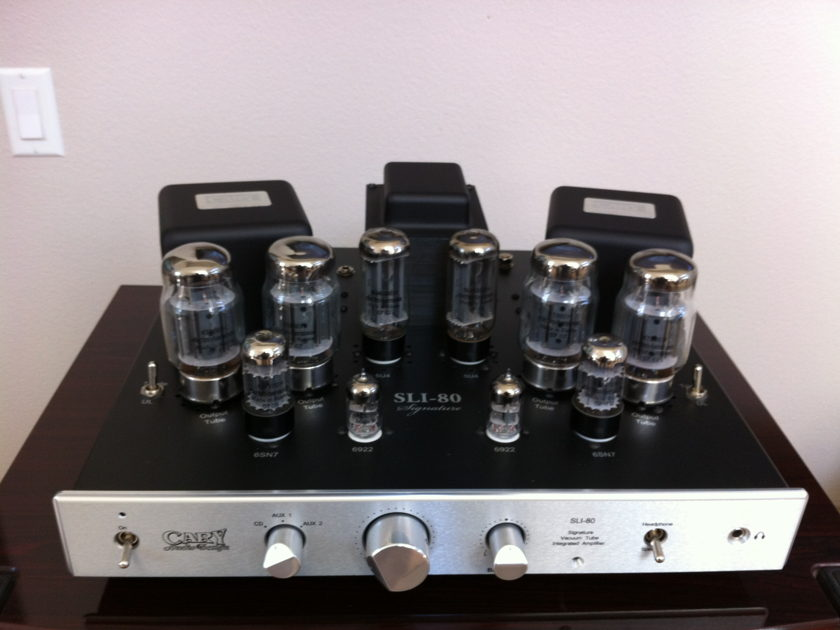 Cary SLI-80 Signature Integrated Amplifier Upgraded