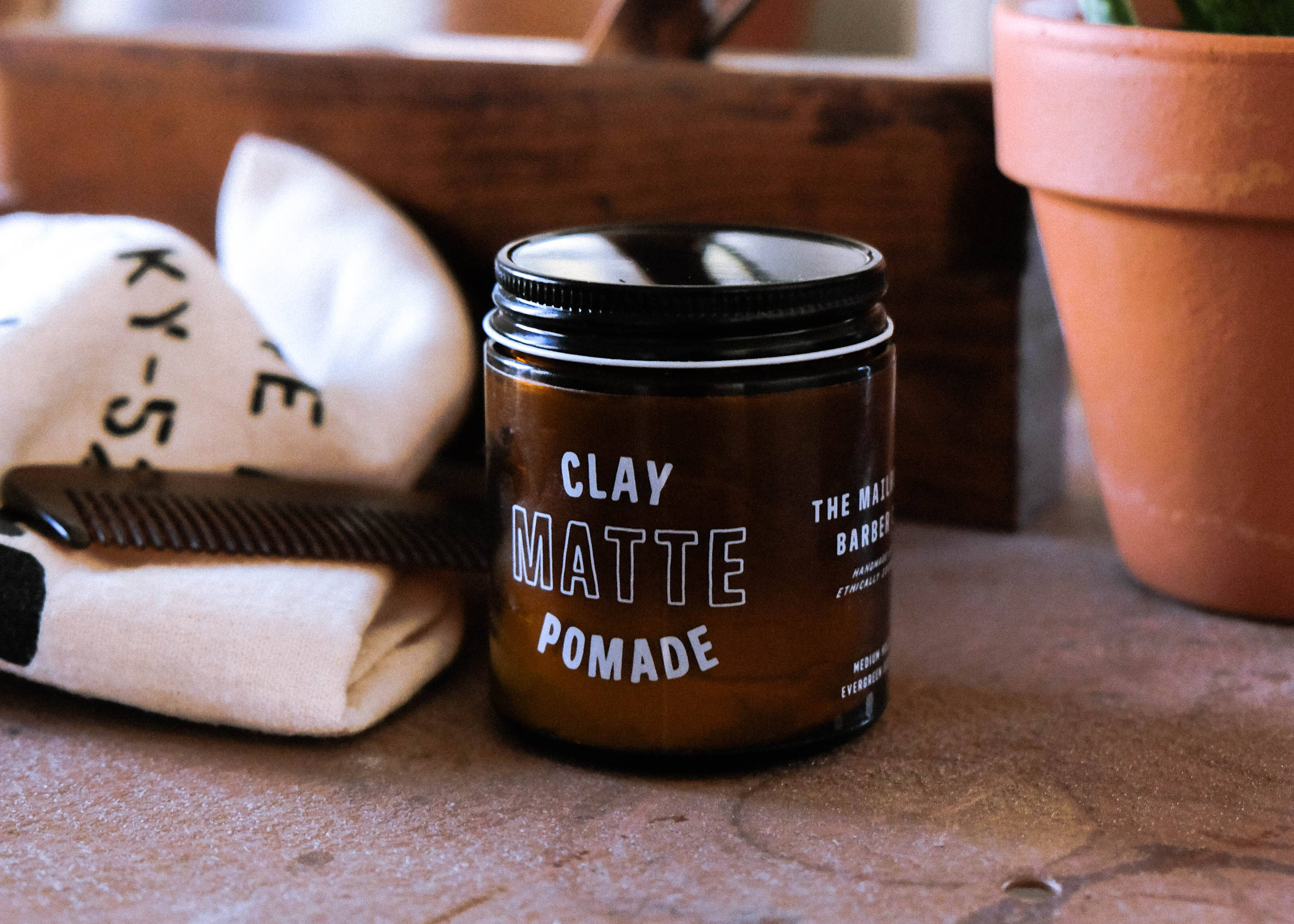New Matte Clay Pomade
