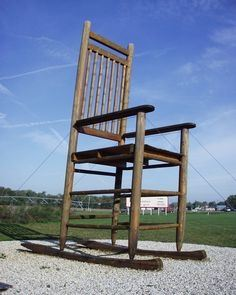 giant rocking chair