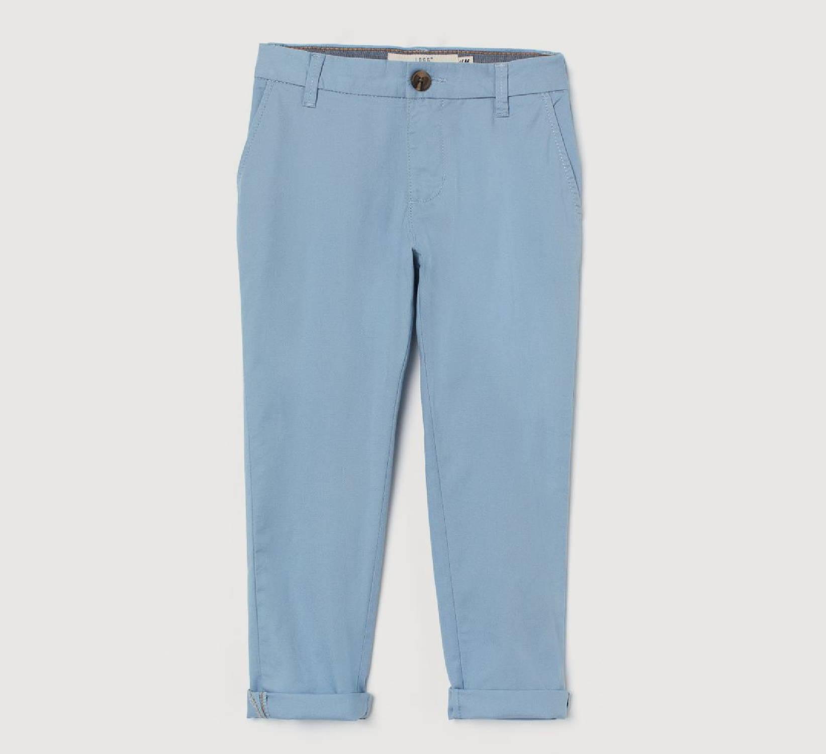Ring Bearer Light Blue Pants
