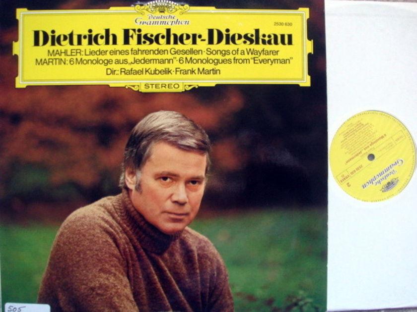 DG / FISCHER DIESAKU-KUBELIK, - Mahler Songs of a Wayfarer, NM!