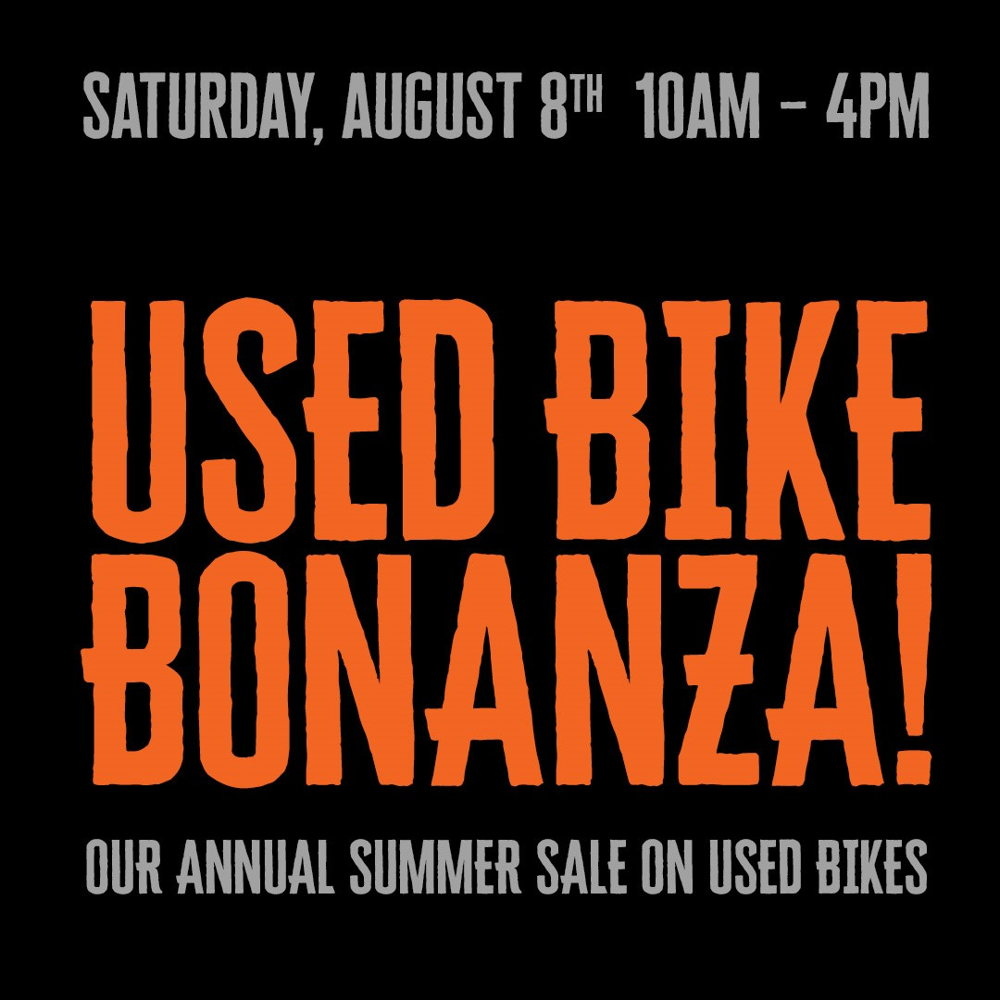 Picture of OUR ANNUAL SUMMER SALE ON USED BIKES