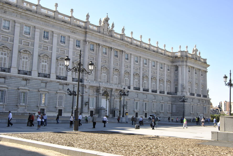Madrid - Palacio Real Madrid