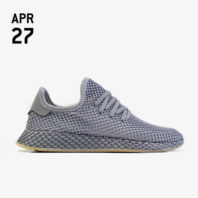 info for ff17a a86d2 ADIDAS DEERUPT RUNNER - GREY THREE F17GREY FOUR F17FTWR WHITE CQ2627