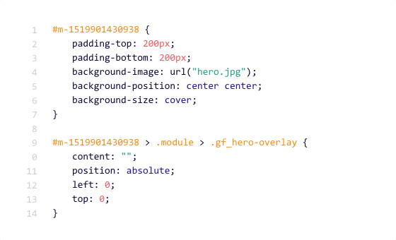 Custom Code Editor