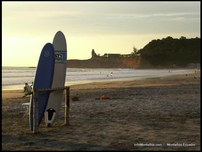 Currents and sea-Montañita