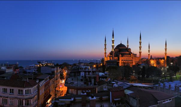 Ночная прогулка по Стамбулу