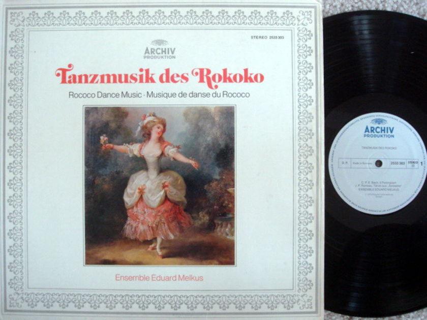 Archiv / MELKUS ENSEMBLE, - Rococo Dance Music, MINT!